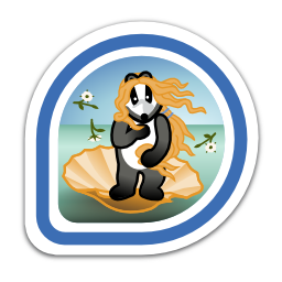 birth-of-badger-badge-artist-iii icon