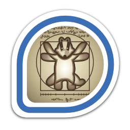 vitruvian-badger-badge-artist-v icon