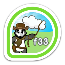 fedora-33-cloud-test-day icon