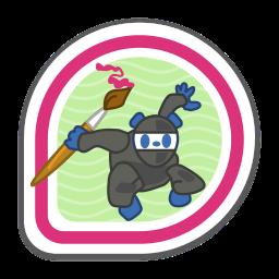 pixel-ninja icon