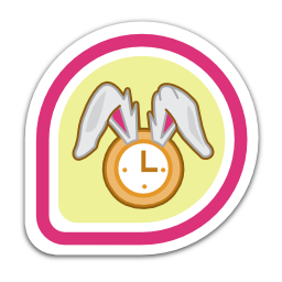 White Rabbit - Fedora Badges