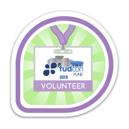 FUDCon Pune 2015 Volunteer