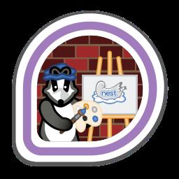 nest-badge-artist icon