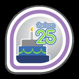 Fedora 25 Release Partygoer