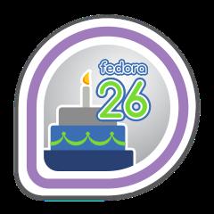 Fedora 26 Release Partygoer