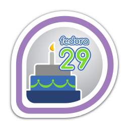fedora-29-release-partygoer icon